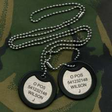 British Army Dog Tags