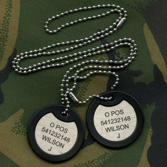 British Military Dog Tags 187 Armydogtags