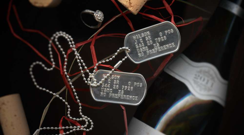 Sterling silver tags for a special message